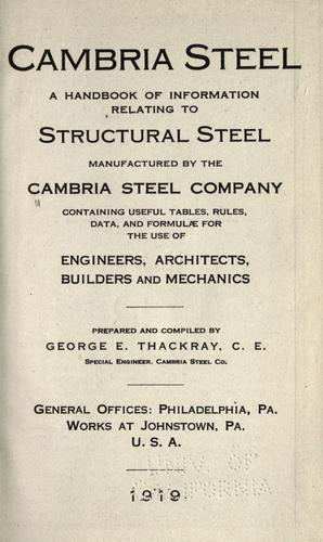 Download Cambria steel