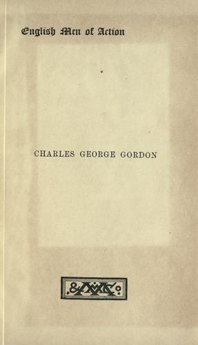Charles George Gordon
