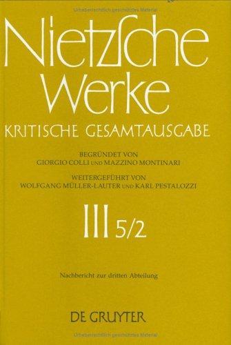 Nietzsche Werke