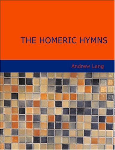 The Homeric Hymns (Large Print Edition)
