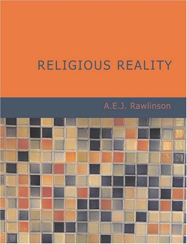 Download Religious Reality (Large Print Edition)