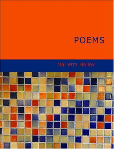 Poems (Holley) (Large Print Edition)