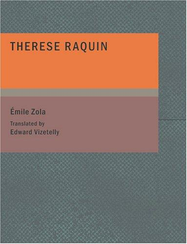 Download Theresa Raquin (Large Print Edition)