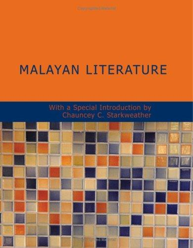 Download Malayan Literature (Large Print Edition)