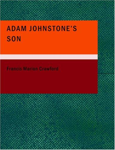 Download Adam Johnstone's Son (Large Print Edition)