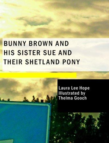 Download Bunny Brown and His Sister Sue and Their Shetland Pony (Large Print Edition)
