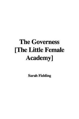 Download The Governess The Little Female Academy