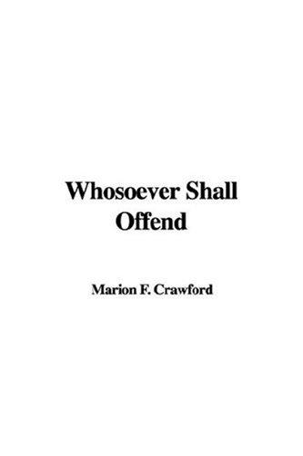 Download Whosoever Shall Offend