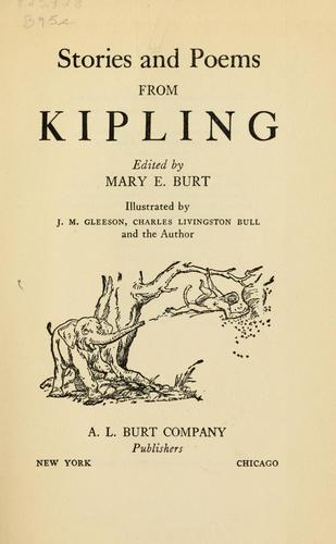 Download Stories and poems from Rudyard Kipling