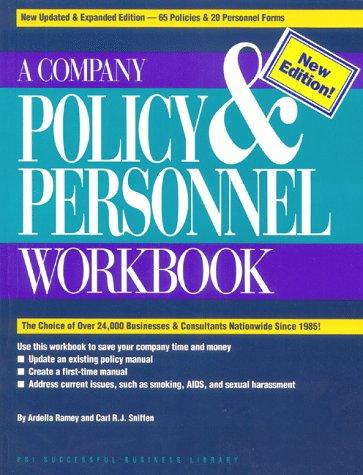 Download A company policy & personnel workbook