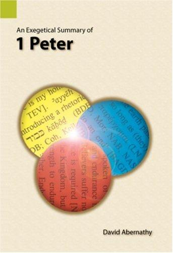 Download An exegetical summary of I Peter