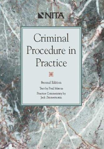 Criminal procedure in practice
