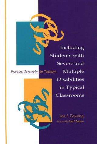 Download Including students with severe and multiple disabilities in typical classrooms