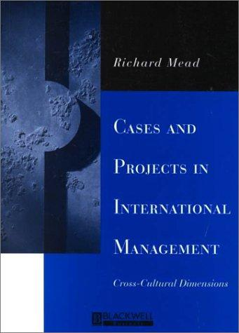 Download Cases and Projects in International Management