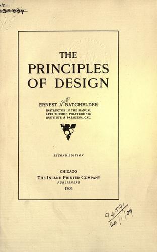 Download The principles of design