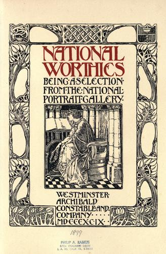 Download National worthies
