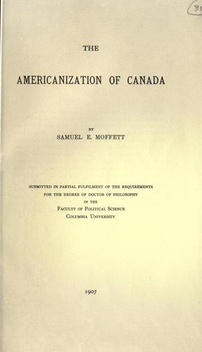 Download The Americanization of Canada.