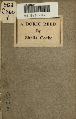 A doric reed.