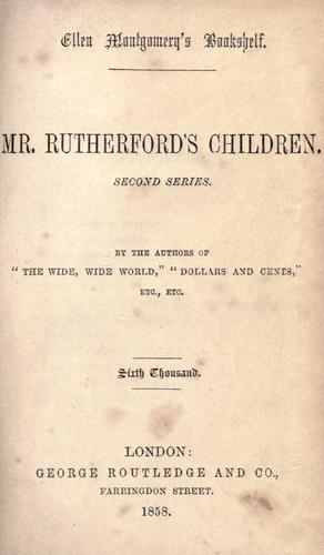 Download Mr. Rutherford's children