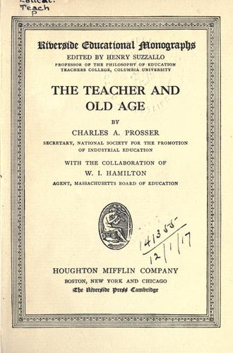 The teacher and old age.