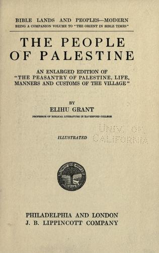 Download The people of Palestine