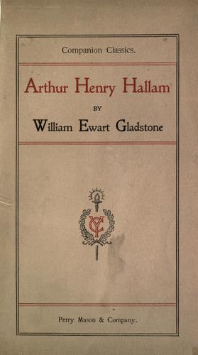 Arthur Henry Hallam.