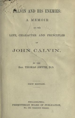 Calvin and his enemies
