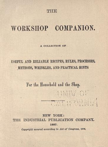 Download The workshop companion.