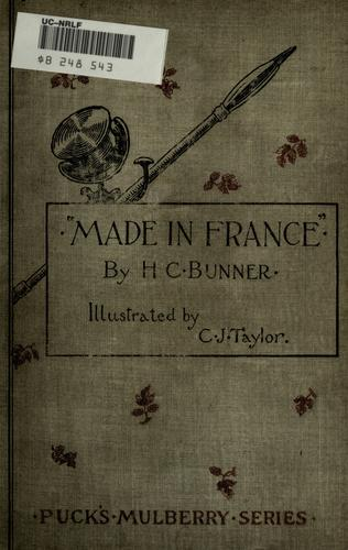 """""""Made in France;"""""""
