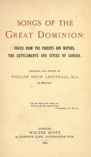 Download Songs of the Great Dominion