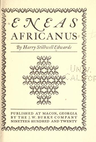 Download Eneas Africanus