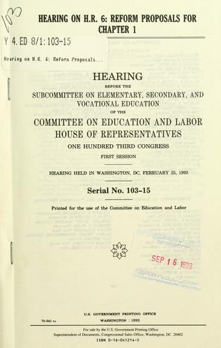 Download Hearing on H.R. 6
