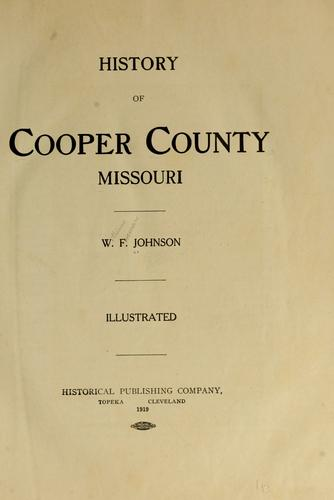 Download History of Cooper County, Missouri