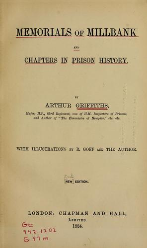 Download Memorials of Millbank, and chapters in prison history
