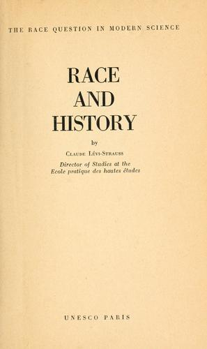 Race and history.