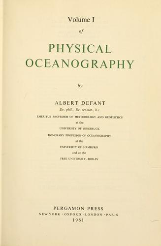 Download Physical oceanography.