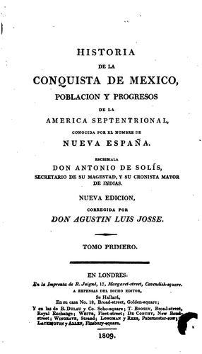 Download Historia de la conquista de Mexico