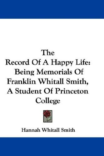 The Record Of A Happy Life