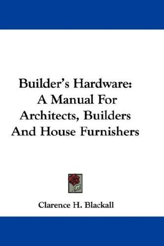Download Builder's Hardware
