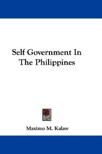 Download Self Government In The Philippines