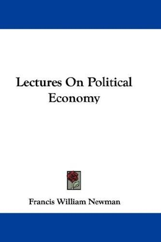 Download Lectures On Political Economy