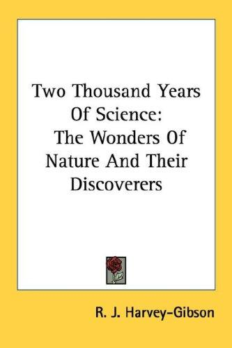 Two Thousand Years Of Science