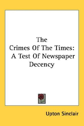 The Crimes Of The Times