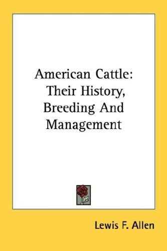 Download American Cattle