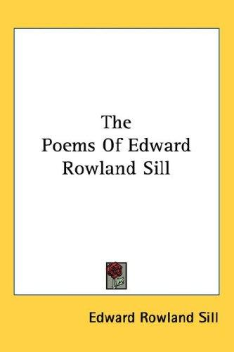 Download The Poems Of Edward Rowland Sill
