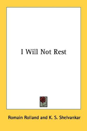 Download I Will Not Rest
