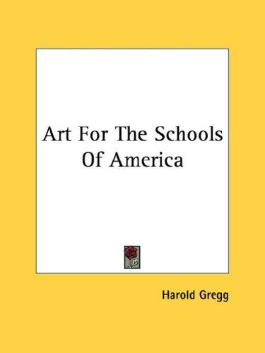 Art For The Schools Of America