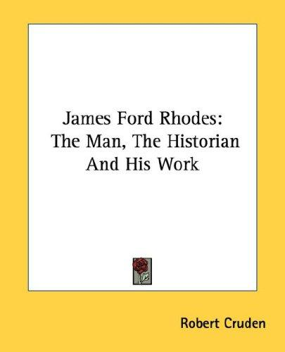 James Ford Rhodes