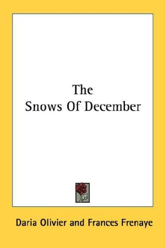 The Snows Of December