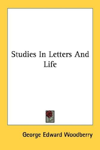 Studies In Letters And Life